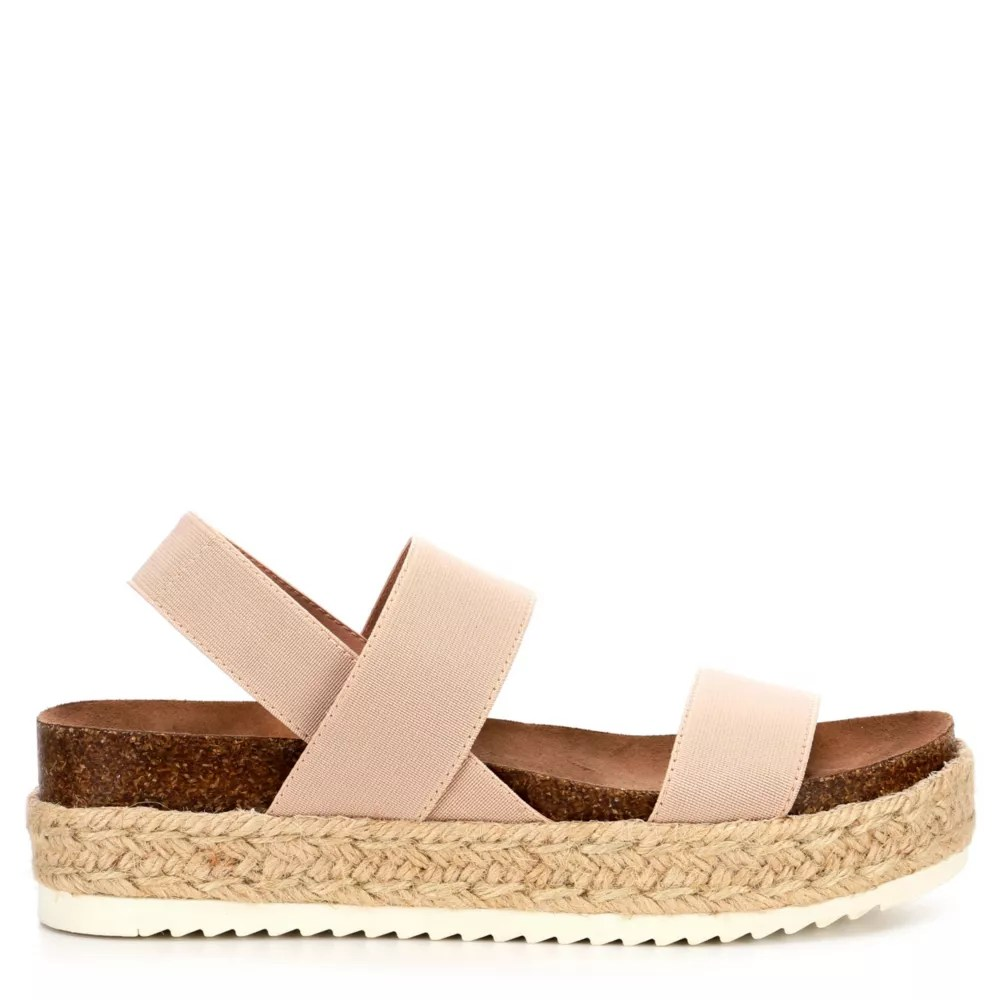 Nude Madden Girl Womens Cybell  Sandals  Off Broadway Shoes