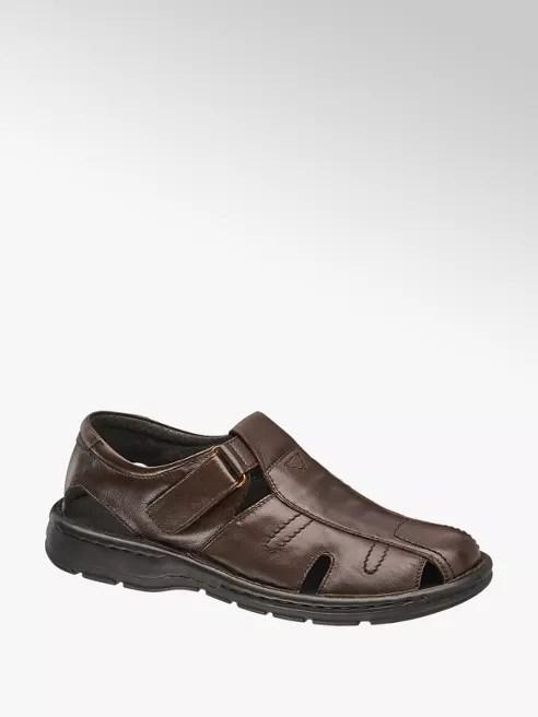 Kožené sandály (1354803) od Deichmann