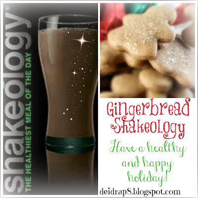 gingerbread, chocolate shakeology, clean eating, meal replacements, health shakes, beach body, P90X3, meal plans, Deidra Penrose