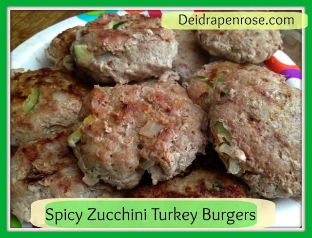 Deidra Penrose, clean eating recipes, healthy recipes, weight loss recipes, easy grilling recipes, Spicy Zucchini turkey burgers, health turkey burgers, zucchini turkey burgers, turkey burger recipe, zucchini recipes, health zucchini recipes, spicy burger recipe
