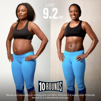 Deidra Mangus, 10 rounds, home boxing workout, mens home workout, elite beachbody coach, weight loss journey, weight loss after baby, cardio workout at home, healthy military family, beachbody on demand, 10 rounds transformation