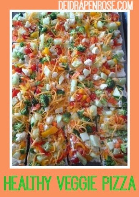 Veggie pizza, peppers, tomato, broccoli, greek yogurt, clean eating, weight loss, healthy recipes, Cream cheese, beach body coach, easy party recipes, healthy appetizer recipes, elite team beach body coach, health and fitness coach, weight loss recipes, healthy pizza recipe, deidra penrose