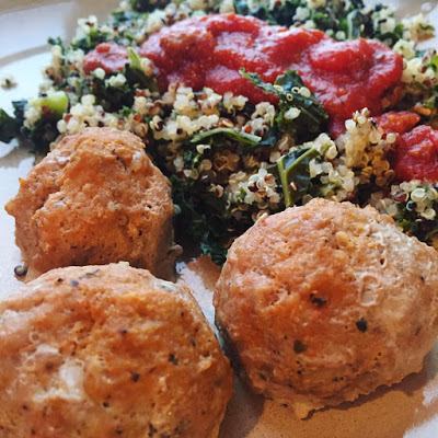 Deidra Penrose, Quinoa, Kale salad, Turkey meatballs, weight loss, get fit, Beachbody Coach Chambersburg PA, healthy new mom, weight loss recipes, clean eating tips, fitness journey, healthy nurse, nurse and fitness, healthy eating tips, organic, wheat germ