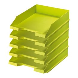 "#5xherlitz Briefablage Color-Blocking ""Sporty Lemon"", DIN A4 -"