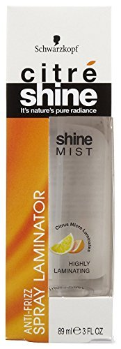 Citre Shine Shine Mist Laminiergerät Anti-Frizz 3oz. Pumpe -