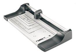 Dahle 507 Roll- und Schnitt-Schneidemaschine, Schnittlänge 320mm, silber/schwarz Edition -