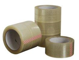 Generic 6 Rollen Paketband Klebeband Packband Klar 50 mm x 66 m -