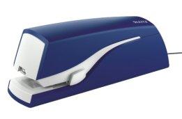 Leitz 55330035 Elektrisches Heftgerät, Heftleistung 20 Blatt, blau -