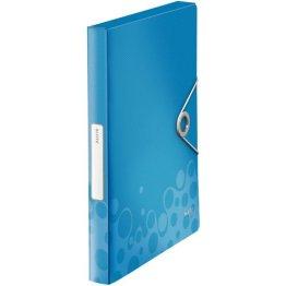 Leitz Ablagebox Bebop A4 Pp,30Mm,Blau,Mit Gummizug -