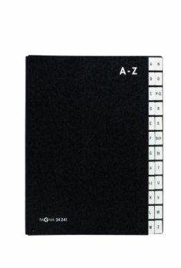 Pagna Pultordner A-Z 24-teilig schwarz -