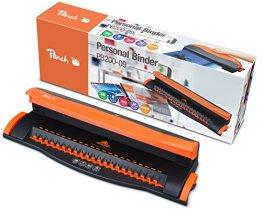 Peach  PB200-09 Plastikbindegerät Personal Binder A4 - inkl. 20-teiligem Starterset -