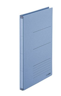 PLUS Japan Zero Max Platzsparordner A4-Überbreite Blau, dehnbar bis zu 10cm, für 800 Blatt -