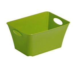 """Rotho Allzweckbox """"Living"""" aus Kunststoff, universell einsetzbar als  Aufbewahrungsbox in Kinderzimmer, Büro, Bad, Wohnzimmer etc., 1.5 l, ca. 18x13.4x9 cm (LxBxH), grün, auch andere Farben verfügbar -"""