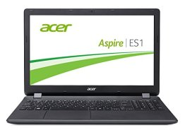 Acer Aspire ES 15 (ES1-571-P4KB) 39,6 cm (15,6 Zoll Full HD) Notebook (Intel Pentium 3556U, 4GB RAM, 500GB HDD, Intel HD Graphics, DVD, ohne Betriebssystem) schwarz -