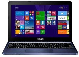 ASUS (11,6 Zoll) lautloses 980g Notebook (Intel Quad Core 4x1.83 GHz, 2GB RAM, 32GB SSD, Intel HD Graphic, micro-HDMI, Webcam, 2xUSB, WLAN, Windows 10 Home 64-Bit #5084 -