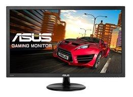 Asus VP247H 61 cm (24 Zoll) Monitor (VGA, DVI, HDMI,1ms Reaktionszeit) schwarz -