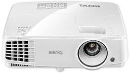 BenQ MW526 DLP-Projektor (3D über HDMI, WXGA, 1280 x 800 Pixel, 3200 ANSI-Lumen, Kontrast 13000:1, VGA, Smart Eco) weiß -