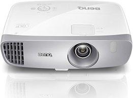 BenQ W1110 3D Heimkino DLP-Projektor (Full HD 1920x1080 Pixel, 2.200 ANSI Lumen, Kontrast 10.000:1, HDMI, MHL, vertikal Lens-Shift) weiß -