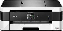 Brother MFC-J4420DW 4-in1 Farbtintenstrahl-Multifunktionsgerät (Drucken, scannen, kopieren, faxen, 6.000x1.200 dpi, USB 2.0 Hi-Speed, WLAN) schwarz/weiß -