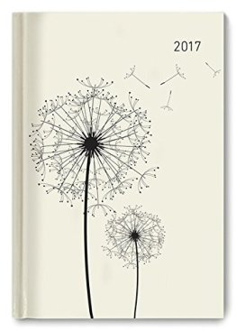 Buchkalender Blowballs 2017 - Bürokalender A5 Motiv - 1 Tag 1 Seite - 352 Seiten -