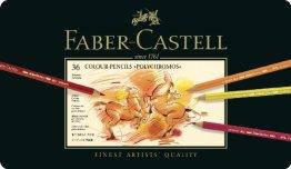Faber-Castell 110036 - Künstlerfarbstift POLYCHROMOS, 36er Metalletui -