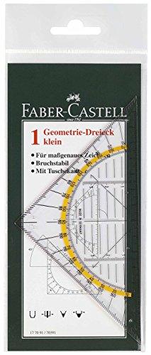 Faber-Castell 177091 - Geometrie-Dreieck klein, 14 cm -