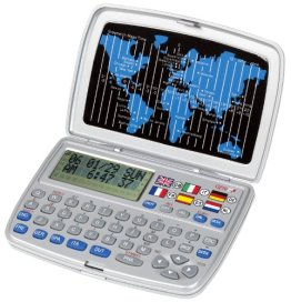 Genie T-6L Sprachenübersetzer (6 Sprachen, 30000 Wörtern) silber -