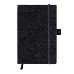 Herlitz 11369782 Notizbuch my.book Classic A5, 96 Blatt, liniert, schwarz -
