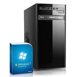Home & Office PC - IDV i5-6500 inkl. Windows 7 Professional - Intel QuadCore i5-6500, 4x 3200 MHz, 8GB RAM, 120GB SSD, 300MBit/s WLAN -