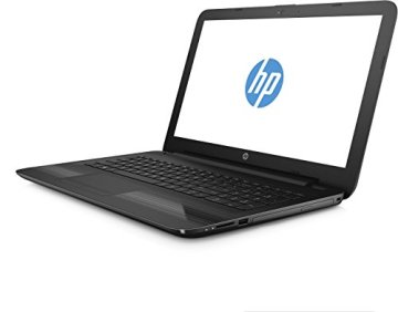 HP 15-ba057ng 39,6 cm (15,6 Zoll) Notebook (HD Display, AMD A10-9600, 8GB DDR4, 256GB SSD, AMD R7 M440 Graphics 2GB, DVD-RW, Win 10 Home 64Bit) schwarz -