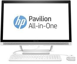 HP Pavilion 27-a152ng (Y6X25EA) 68,6 cm (27 Zoll / FHD IPS) All in One Desktop PC (Intel Core i7-6700T, 8 GB RAM, 128 GB SSD, 1 TB HDD, NVIDIA GeForce 930A, Windows 10 Home 64) weiß -
