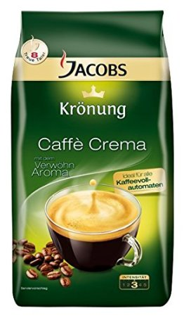Jacobs Krönung Caffè Crema ganze Bohne, 1000 g -
