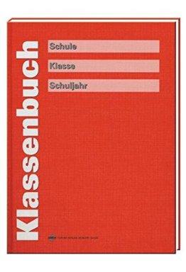 Klassenbuch, rot -