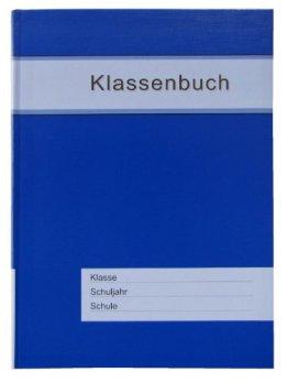 Klassenbuch Standard mit blauem Umschlag, für alle Schulformen - 11 Std./Tag -