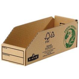 Kleinteilebox, 98x102x280, Lagerkasten, Sichtlagerkästen, Regalkarton, Lagerkarton, Fellowes, 7353 -