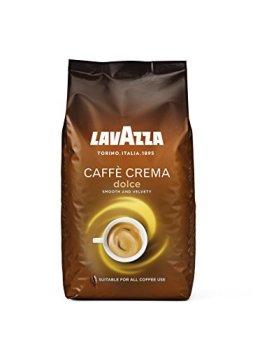 Lavazza Caffè Crema Dolce Kaffeebohnen, (1 x 1kg) -