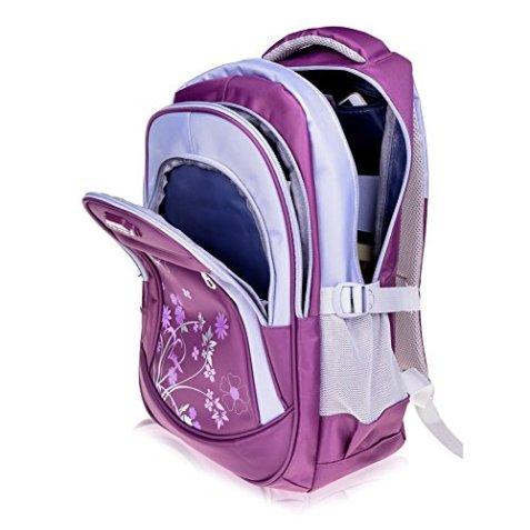 0eaa41b7c72ee Leefrei Schulrucksack Schulranzen Schultasche Sports Rucksack  Freizeitrucksack Daypacks Backpack für Mädchen Jungen   Kinder Damen Herren