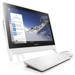 'Lenovo C20-00-19.5FullHD-All-in-One-Computer (Intel Celeron N3050, 4GB RAM, 500GB HDD, Windows 10Home), inkl. Tastatur und kabellose Maus-Spanische Tastatur QWERTY -
