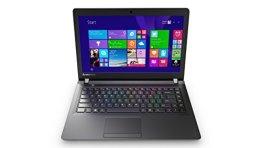 Lenovo IdeaPad 100 35,6 cm (14 Zoll HD TN) Notebook (Intel Celeron N2840, 2,58 GHz, 4 GB RAM, 500 HDD, Intel HD Graphics, DOS) schwarz -