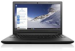 Lenovo Ideapad 100 39,6 cm (15,6 Zoll HD) Notebook (Intel Core i3-5005U, 2GHz, 4GB RAM, 128GB SSD, NVIDIA GeForce 920M 1GB, DVD-Brenner, kein Betriebssystem) schwarz -