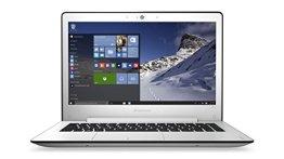 Lenovo ideapad 500s 33,78cm (13,3 Zoll Full HD Anti-Glare) Slim Notebook (Intel Core i5-6200U, 2,8GHz, 4GB RAM, 128GB SSD, Intel HD Grafik 520, Tastatur-Hintergrundbeleuchtung, Windows 10 Home) weiß -