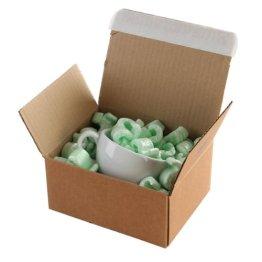Purely Packaging PEB10 Versandbox, Haftklebung mit Abziehstreifen, manipulationssicher, 160 x 130 x 70 mm, 20-er Pack -