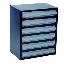 raaco Stahlmagazin 250/6-3, blau, 137591 -