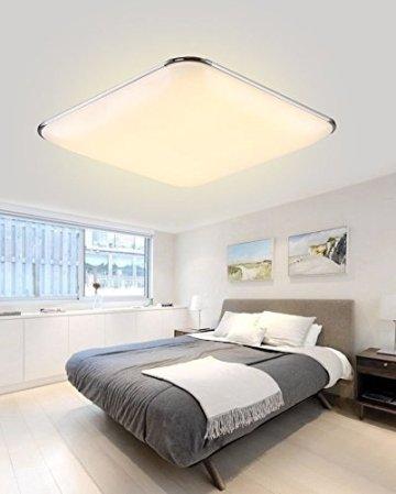 SAILUN 12W Warmweiß Ultraslim LED Deckenleuchte Modern Deckenlampe Flur  Wohnzimmer Lampe Schlafzimmer Küche Energie Sparen Licht Wandleuchte Farbe  ...