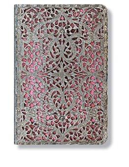 Silberfiligran Kollektion Zartrosa - Adressbuch Mini - Paperblanks -