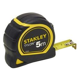 Stanley Bandmass Tylon, 5 m, Tylon-Polymer Schutzschicht, verschiebbarer Endhaken, Kunststoffgehäuse, 0-30-697 -