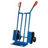 Treppen-Sackkarre, 250 KG blau, 108x53x55 cm -