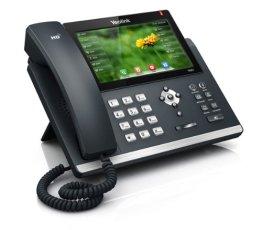 YEALINK SIP-T48G SIP-IP-Telefon PoE mit 17,71cm 7 Zoll Touch Display High End Business -