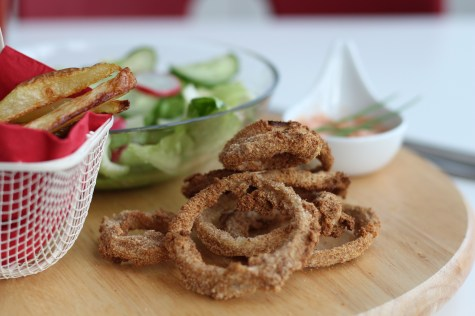 Vegane Onion Rings