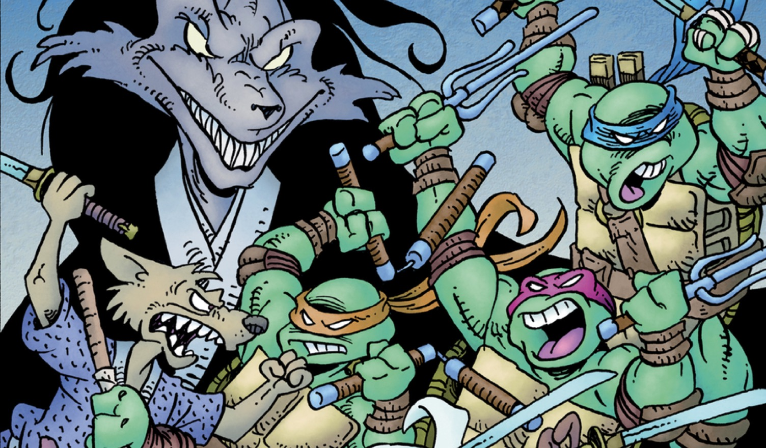 TEENAGE MUTANT NINJA TURTELS Titelbild